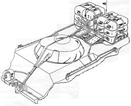 Схема монтажа на БМД-3