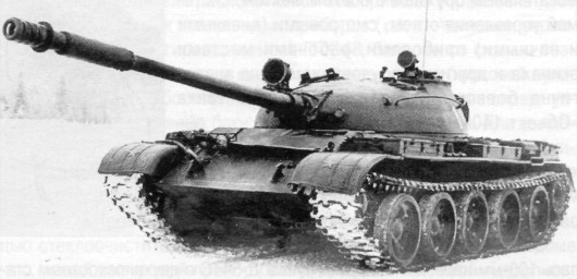 Танк Т-62А («Объект 165») из