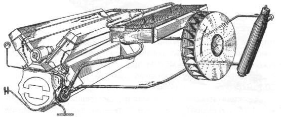 двигателя танка Т-54 обр.