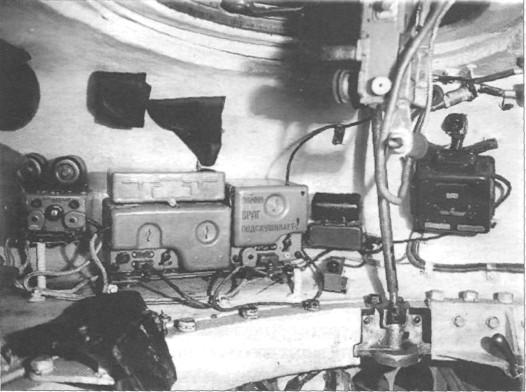 в башне танка Т-54 обр.